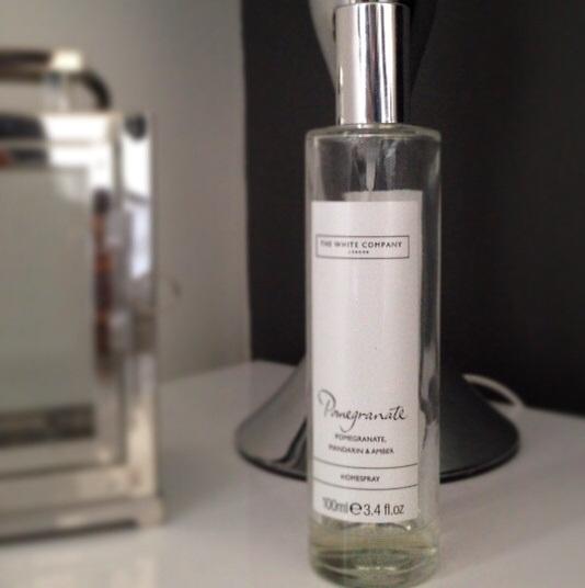 The White Company Pomegranate Home Spray Review A Jo